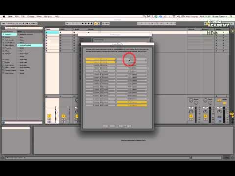 Ableton Live 9 For Beginners Level 1 Tutorial - Audio Setup