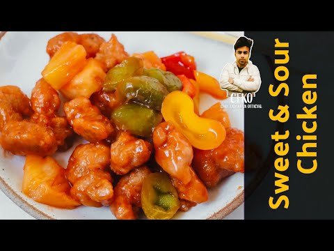 How To Cook 'Sweet And Sour Chicken' |Home Cooking| CFKO | Restaurant style sweet and sour chicken