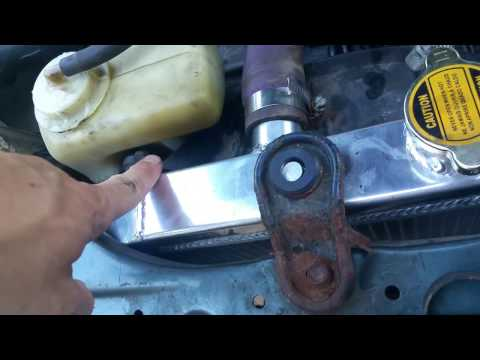 96-00 Honda Civic Ebay Radiator Instal Cheap fix UNDER $50 FIX YOUR LEAK!