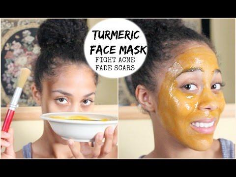 DIY Beauty: Turmeric Face Mask - Fight Acne & Fade Acne Scars