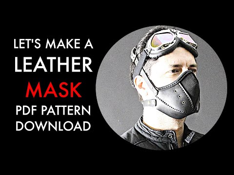 Cyberpunk mask build along