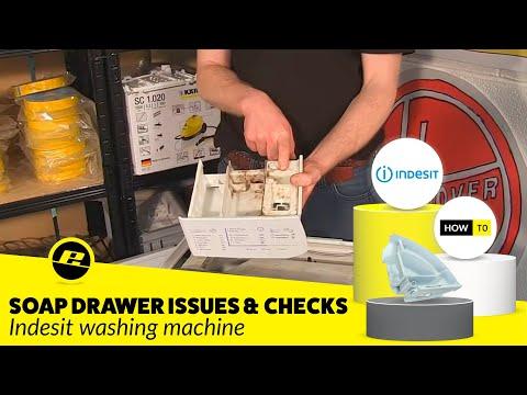Indesit Washing Machine Detergent Dispenser Problems
