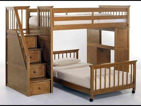 Loft Bed Plans/Bunk bed plans Step by Step - How To Build A Bunk Bed/Loft Bed Plans