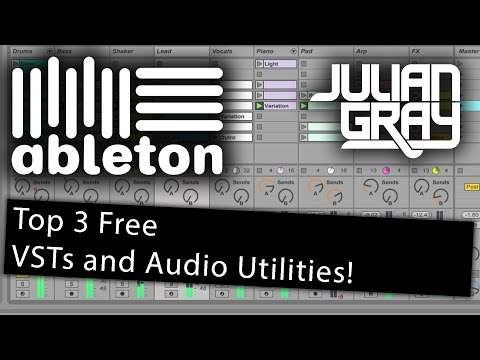 Top 3 Free VSTs and Audio Utilities - Ableton Live