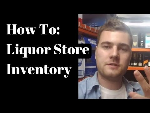 How to fill up Inventory in a Liquor Store