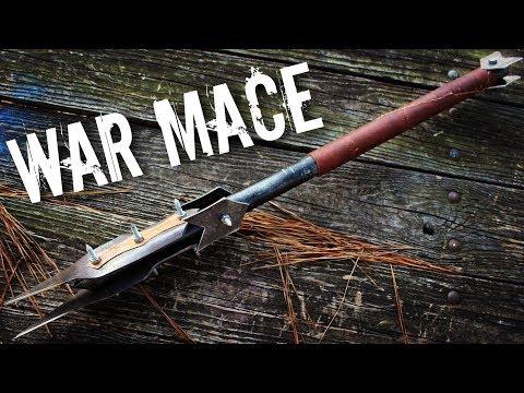 Lawn Mower Blade WAR MACE?!  (medieval-ish)