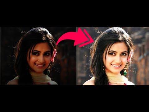 How to make face skin whiteness in adobe Photoshop cs5 cs6 7 0 cs4 cs3 and al
