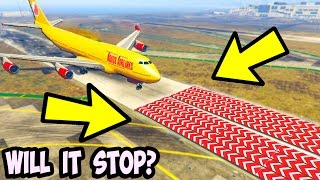 CAN 100+ SPEED NERFS STOP A PLANE FROM LANDING IN GTA 5?