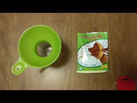 HOW TO BOTTLE COCONUT MILK FLOWER POWDER