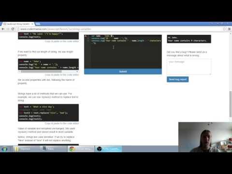 Web developerská škola, časť 16: JavaScript - Reťazce textu