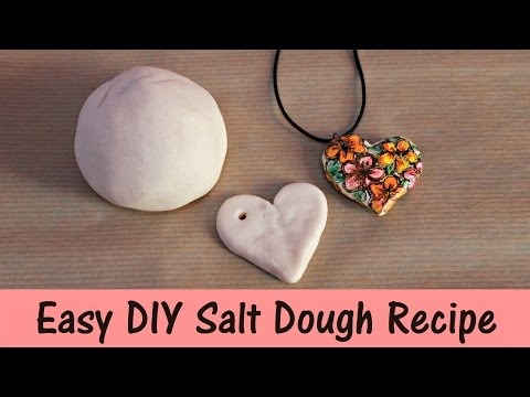 Easy DIY Salt Dough Recipe | 3 Ingredients