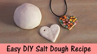 Easy DIY Salt Dough Recipe   3 Ingredients