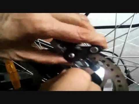 Bicycle Disc Brake Pad Installation Guide