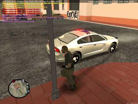 Nice police car