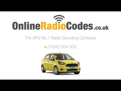 🚗 Ford KA Radio Code Generate Your Stereo Code Instantly.