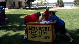 Mooseburger Clown arts camp 2012 Inside view