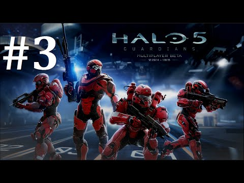 Halo 5: Guardians Early Beta Access Multiplayer Gameplay Part 3