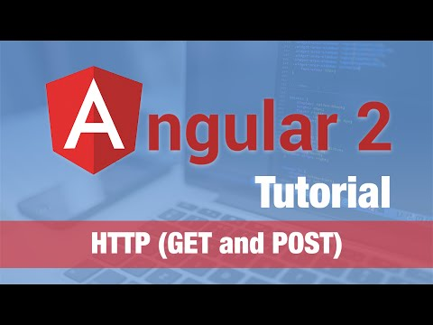 Angular 2 Tutorial (2016) - HTTP (GET and POST to RESTful Service)