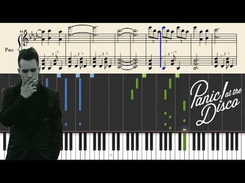 Panic! At The Disco - The End Of All Things - Piano Tutorial + SHEETS