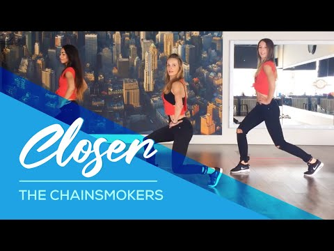 Closer - The Chainsmokers - Easy Fitness Workout Dance- HipNTHigh - booty & legs