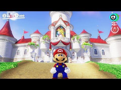Super Mario Odyssey - Walkthrough Part 15 - Mushroom Kingdom All Moons & Coins