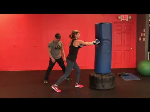 Punching Bag Workout To Get Fit Legs  l Fitness Boxing Workout To Learn Boxing and Lose Fat