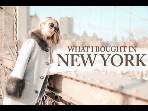 WHAT I BOUGHT IN NEW YORK // KATE SPADE HAUL // FASHION MUMBLR
