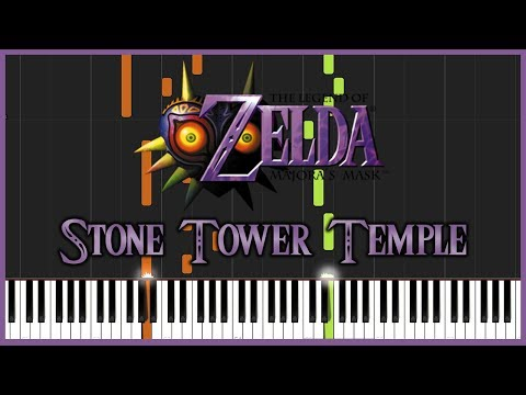 Stone Tower Temple - The Legend of Zelda: Majora's Mask [Piano Tutorial] // Torby Brand