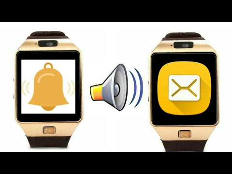 How to change Ringtone And Message tones of Dz09 Smartwatch