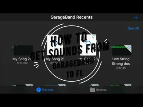 Sampling Sounds From Garageband to Fl Studio (iPhone to Windows 10)