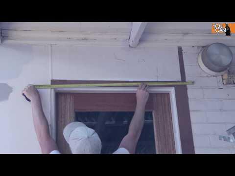 How To Install Door Trim/Casing - Backyard Renovation Part 3