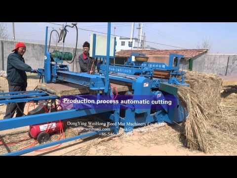 reed straw mat sewing machine / Hay mat straw machine / straw sewing macine