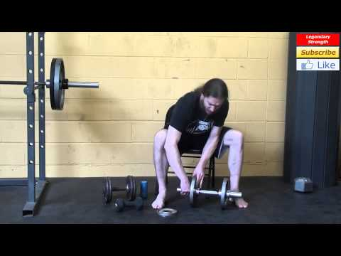 Forearm Workout At Home With Dumbbells