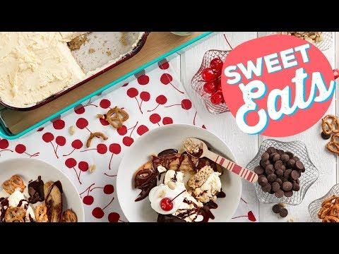 Banana Split Sundae Cake | Food Network