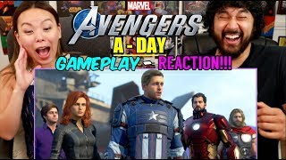 """Marvel's AVENGERS """"A-DAY Prologue"""" GAMEPLAY 