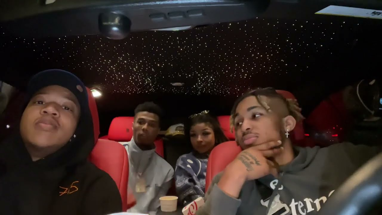 Chick-Fil-A Mukbang with Blueface, Baby Rich, & Chrisean Rock