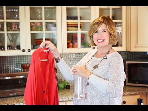 Easy DIY How to Freshen Fabric w/Vodka   Don't Look Under The Rug® with Amy Bates