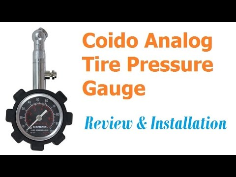 Coido Analog Tire Pressure Gauge - Review (Hindi) | Chetan Technical