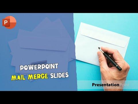 PowerPoint Mail Merge Slides
