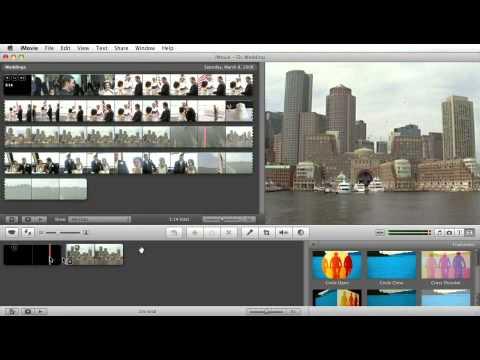 iMovie Tutorial: Add Transitions