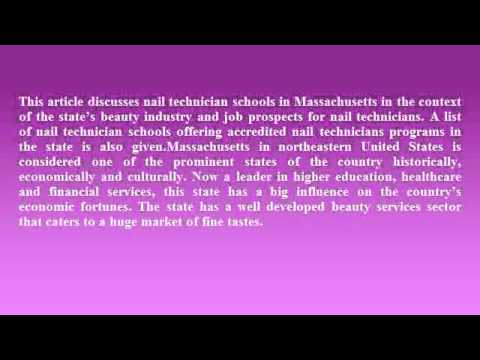 Nail Technician Schools in Massachusetts