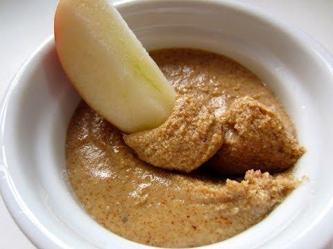 Homemade Almond Butter using Omega Juicer