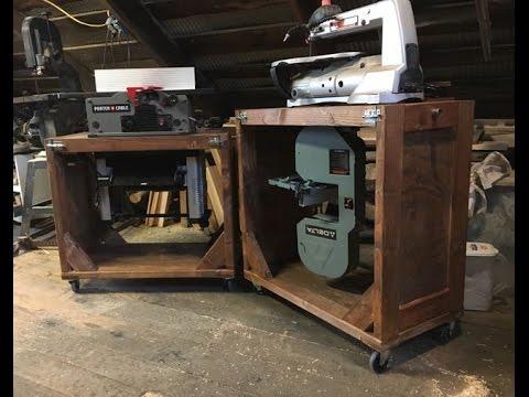 Flip Top Bench Build. Small shop solutions.