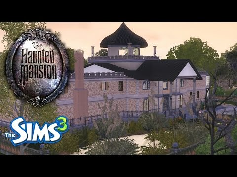 Sims 3 - Disney's Haunted Mansion showcase / machinima