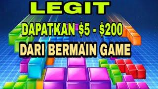 Bermain Game Tetris Penghasil Dollar
