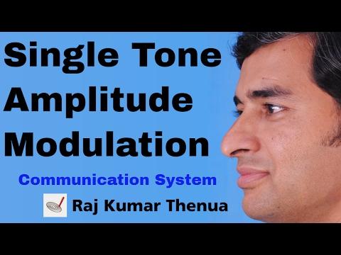 Single Tone Amplitude Modulation - RKTCSu1e10
