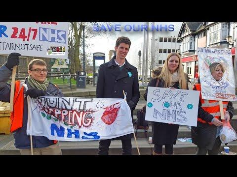 BMA JuniorDoctorsStrike Keep Striking Watford - interview - Save our NHS UK