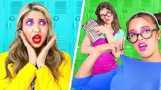 Nerd vs Nerd | How to Be Cool and Popular in High School | Fun School Moments by La La Life Musical