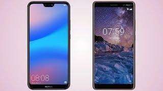 Huawei P20 lite vs Nokia 7 Plus Comparison
