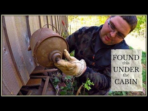 Under Cabin Treasure Hunting!